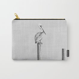 Pelican on a Post Carry-All Pouch