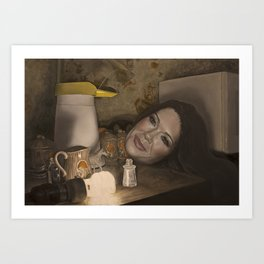 Still Life with Lisa Vanderpump Art Print