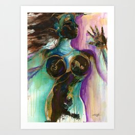 Earth Goddess by Kathy Morton Stanion Art Print