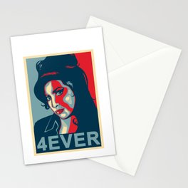 Amy 4ever poster Stationery Cards