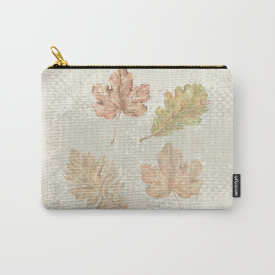 Leaves in autumn Carry-All Pouch