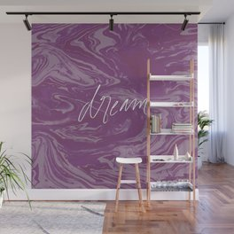 Fuchsia Fantasy - Dream Big Wall Mural