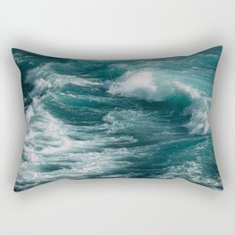 waves #society6 #decor #buyart Rectangular Pillow