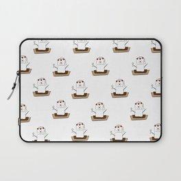 S'mores Bride Pattern Laptop Sleeve