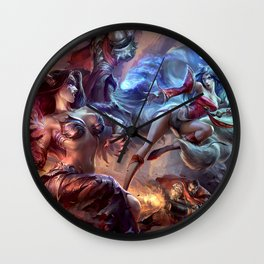 Leagueof Legends Wall Clock