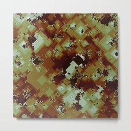 Algorithmic autumn Metal Print