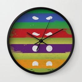 Turtle Eyes Wall Clock