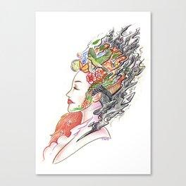 Art of Letting Go (I) Canvas Print