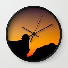 Saint Augustine Sunset Wall Clock