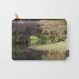 Bridge over Bentley Brook Carry-All Pouch
