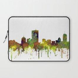 Boston, Massachusetts Skyline SG Safari Buff Laptop Sleeve