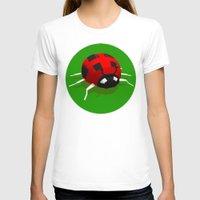 ladybug T-shirts featuring LADYBUG by Ken Forst