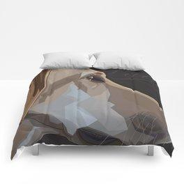 Latte Dog Comforters