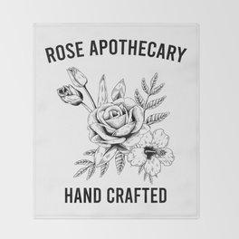 Rose Apothecary - Schitts Creek - Ew David - David Rose Throw Blanket