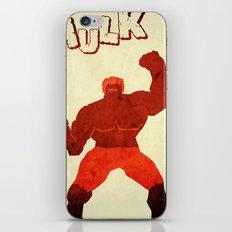 The Avengers Hulk iPhone & iPod Skin