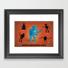 Dance the Night Away Framed Art Print