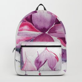Moon with Lotus Backpack
