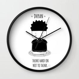 Dhyan Wall Clock