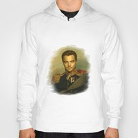 leonardo Hoodies featuring Leonardo Dicaprio - replaceface by replaceface