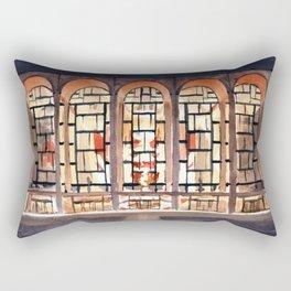 The Metropolitan Opera at Night Rectangular Pillow