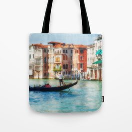 Grand Canal Gondola Tote Bag