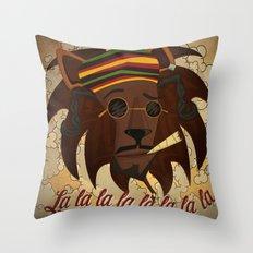 Snoop Lion Throw Pillow