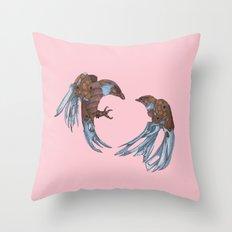 LOVE + BATTLE Throw Pillow