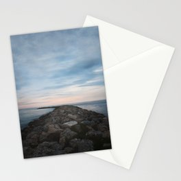 The Jetty at Sunset - Landscape Stationery Cards