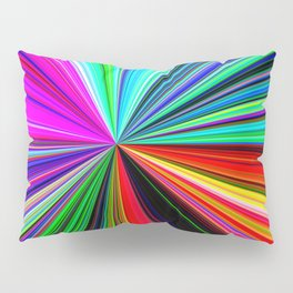 color burst Pillow Sham