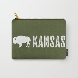 Bison: Kansas Carry-All Pouch