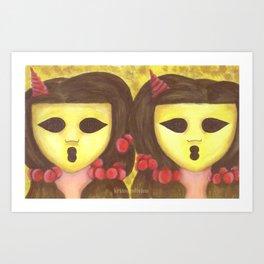 The Ghostesses Of Caprice Art Print #2 Art Print