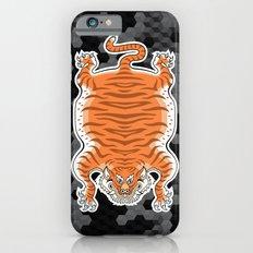 TIBETAN TIGER GOLDEN (black) Slim Case iPhone 6s