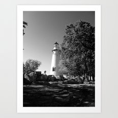 Lighthouse... Art Print