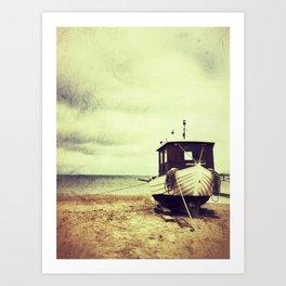 Fisher Boat Art Print