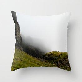 Storr Mist Throw Pillow