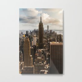 ARCHITECTURE - BUILDINGS - CITY - PHOTOGRAPHY Metal Print