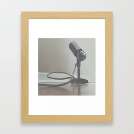 Speak Out & Sing Loud Framed Art Print