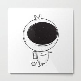 Space Fart Metal Print