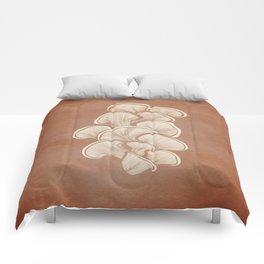 Mushrooms in Copper Comforters
