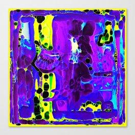 Subsurface Strata Tralala Canvas Print