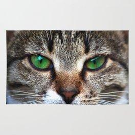 Staring Cat Rug