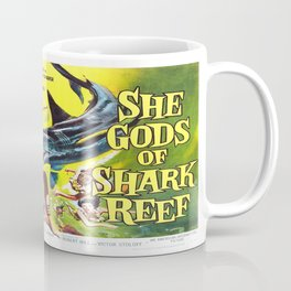 Vintage poster - She Gods of Shark Reef Coffee Mug