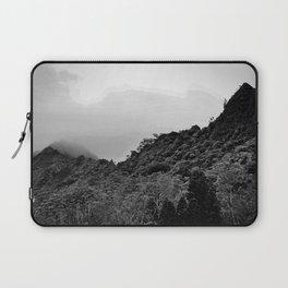 Foggy Peaks Laptop Sleeve