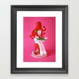 Onto-Girl Framed Art Print