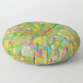 Abstract 14 Floor Pillow