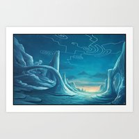 Imoreith Tundra Art Print