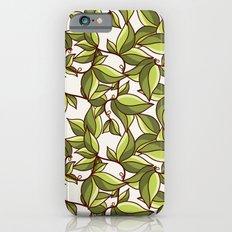 Fresh summer leaves Slim Case iPhone 6s
