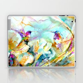 Dawn Greeting Laptop & iPad Skin