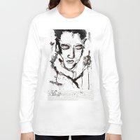 elvis presley Long Sleeve T-shirts featuring Elvis Presley by Tom Melsen