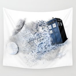 I wanted to see the universe, so I stole a Timelord and ran away... Wall Tapestry